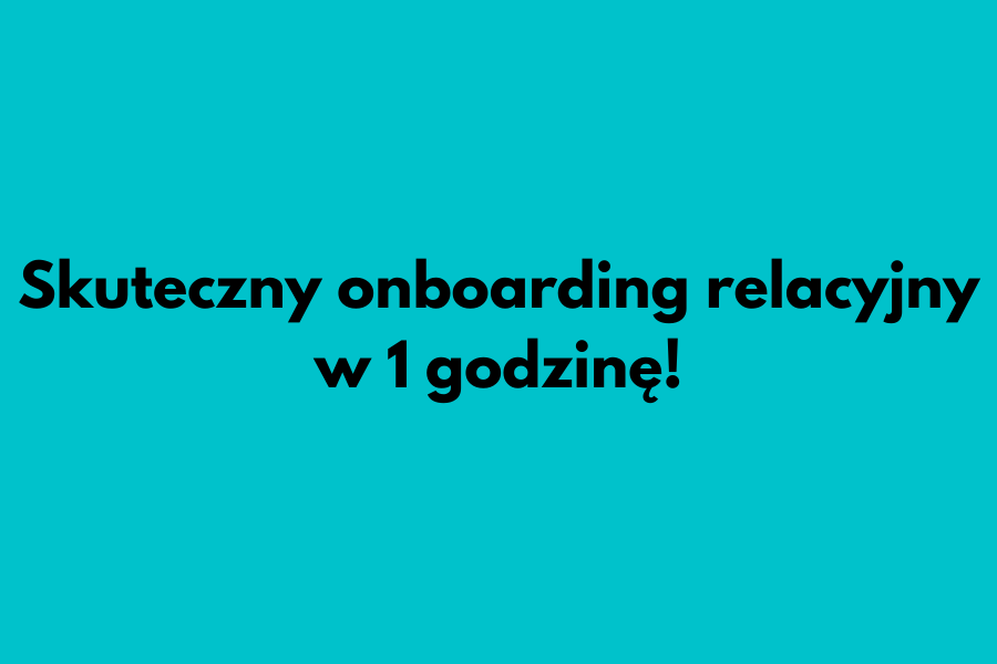 Onboarding pracownika case study.