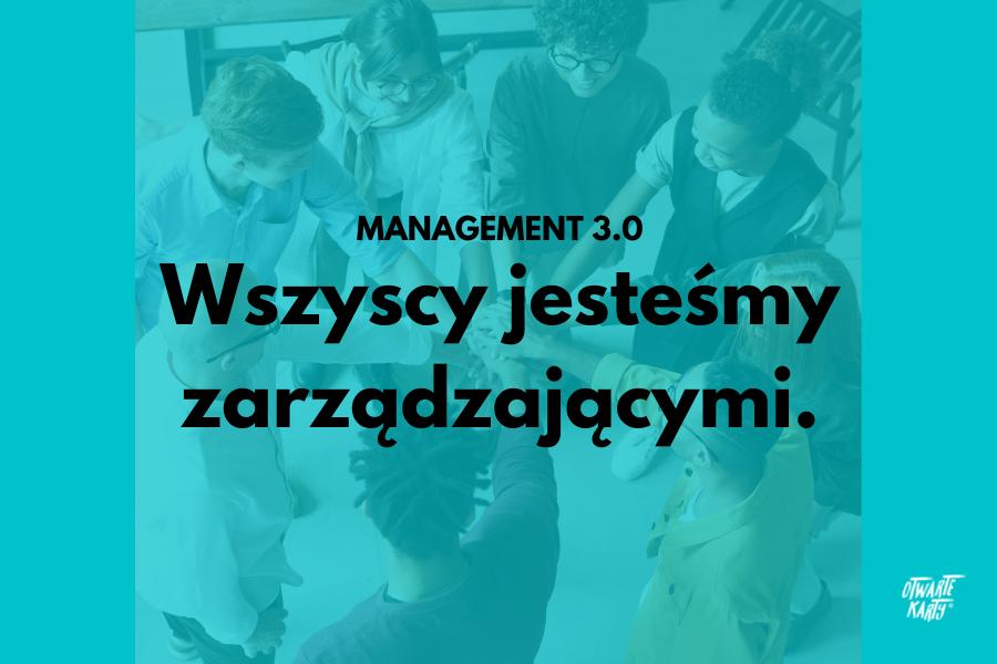 Management 3.0 model zarządzania